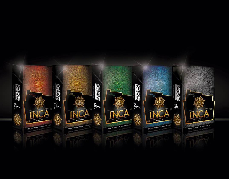 """Rediseño de cajetillas de """"Cigarros Inca"""""""